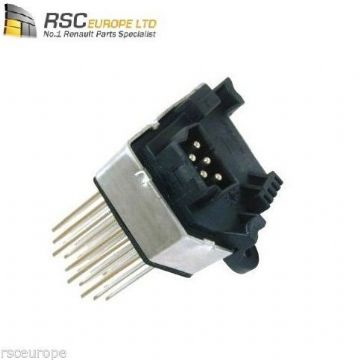 NEW HEATER RESISTOR / RHEOSTAT BMW E46 E83 FINAL STAGE HEDGEHOG TYPE 64116923204